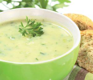 Recette de soupe au blender chauffant