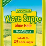 Klare Suppe Rapunzel