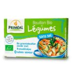 Bouillon légumes sans sel Bio Primeal